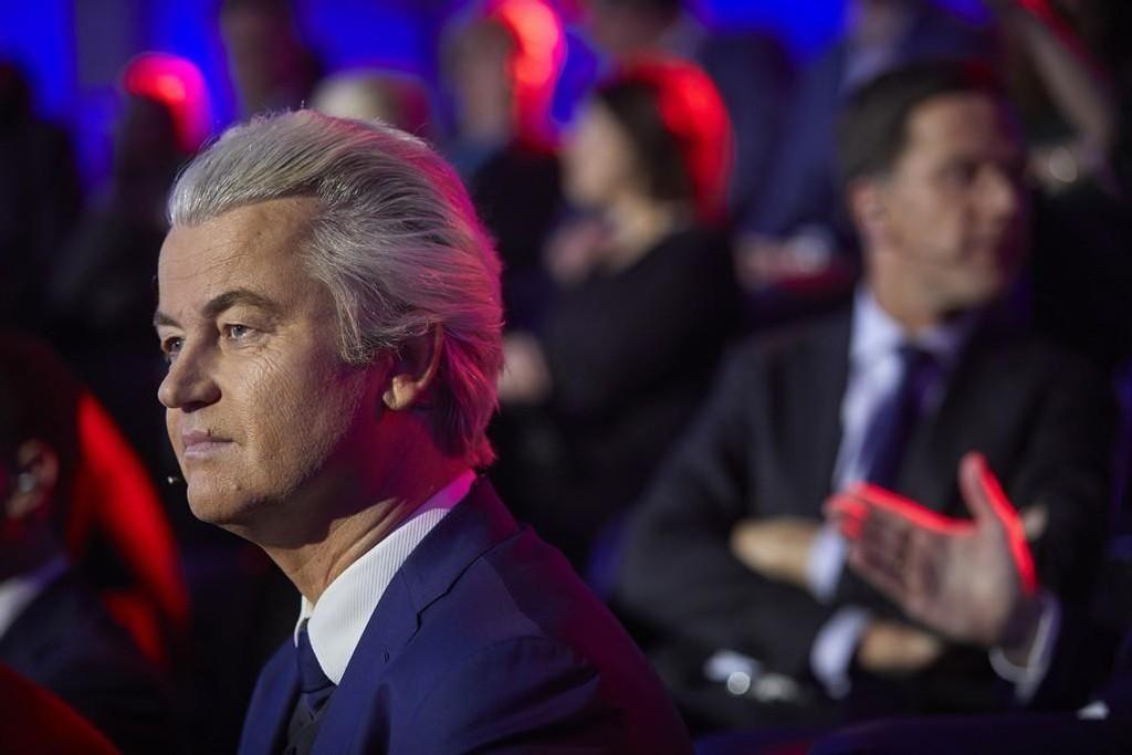 PVV-leder Geert Wilders gjorde det ikke så bra som han håpet i valget i Nederland.