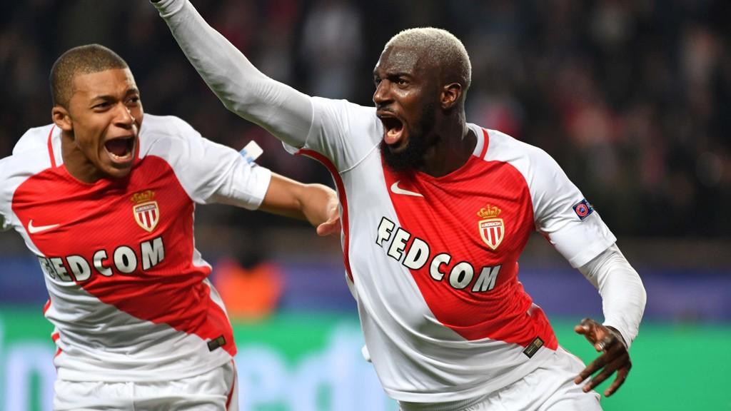 ETTERTRAKTET: Tiemoue Bakayoko (t.h.) og Kylian Mbappe Lottin (t.v.) er ønsket av Manchester United etter oppvisningen i Champions League.