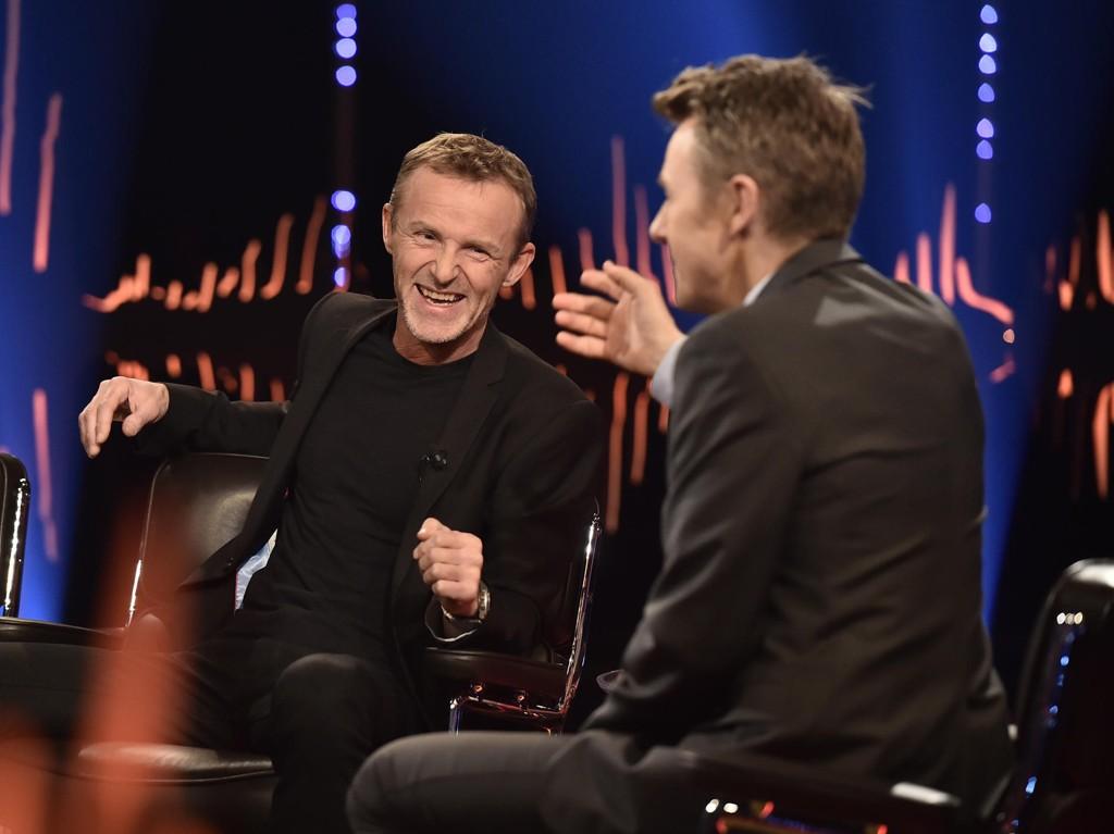 SJELDENT INTERVJU: Jo Nesbø stilte opp i et sjeldent intervju med Fredrik Skavlan.