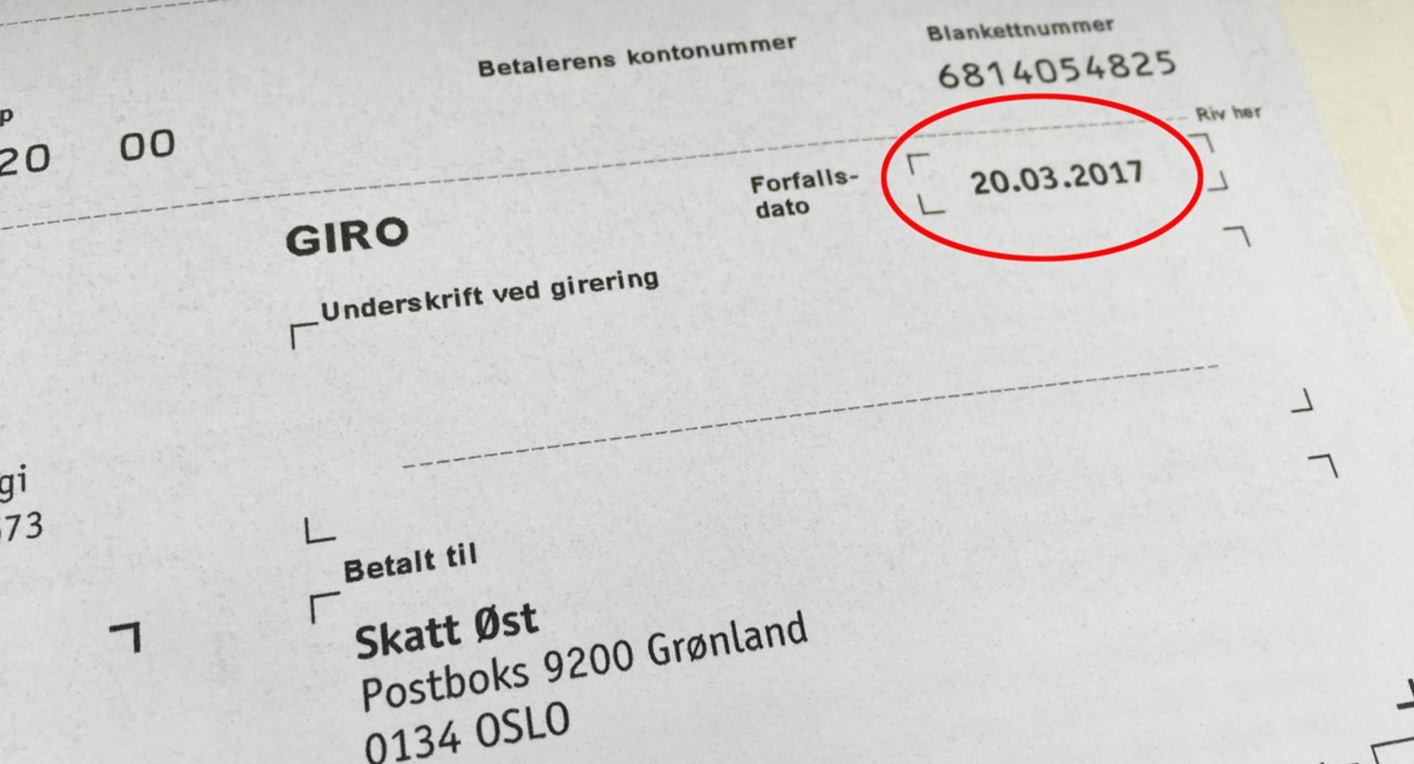 FORFALLER SNART: Årsavgiften forfaller 20. mars, faktura er sendt ut på papir eller til nettbank.