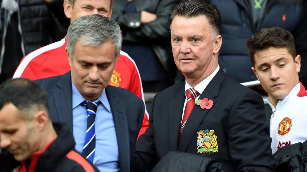 REAGERER: En ærig José Mourinho sier han tok over en trist klubb etter Louis van Gaal.