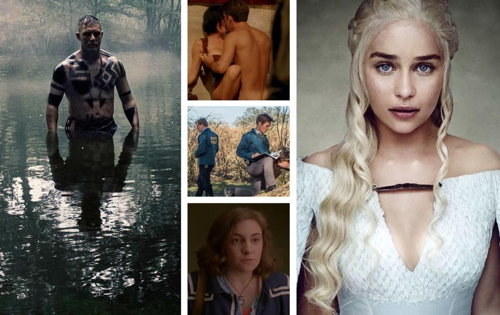 Her er klipp fem av TV-seriene vi anbefaler. Kjenner du dem igjen?