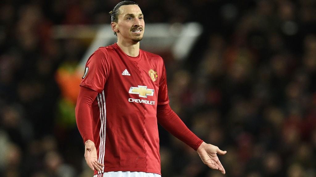 BELGIA NESTE: Zlatan Ibrahimovic og Manchester United møter Anderlecht i neste Europa League-runde.