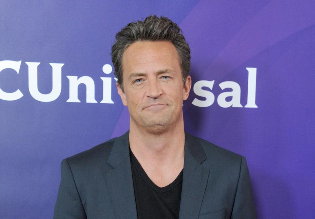 BANKET OPP: Matthew Perry forteller Jimmy Kimmel at han på barneskolen banket opp Canads statsminister, Justin Trudeau.