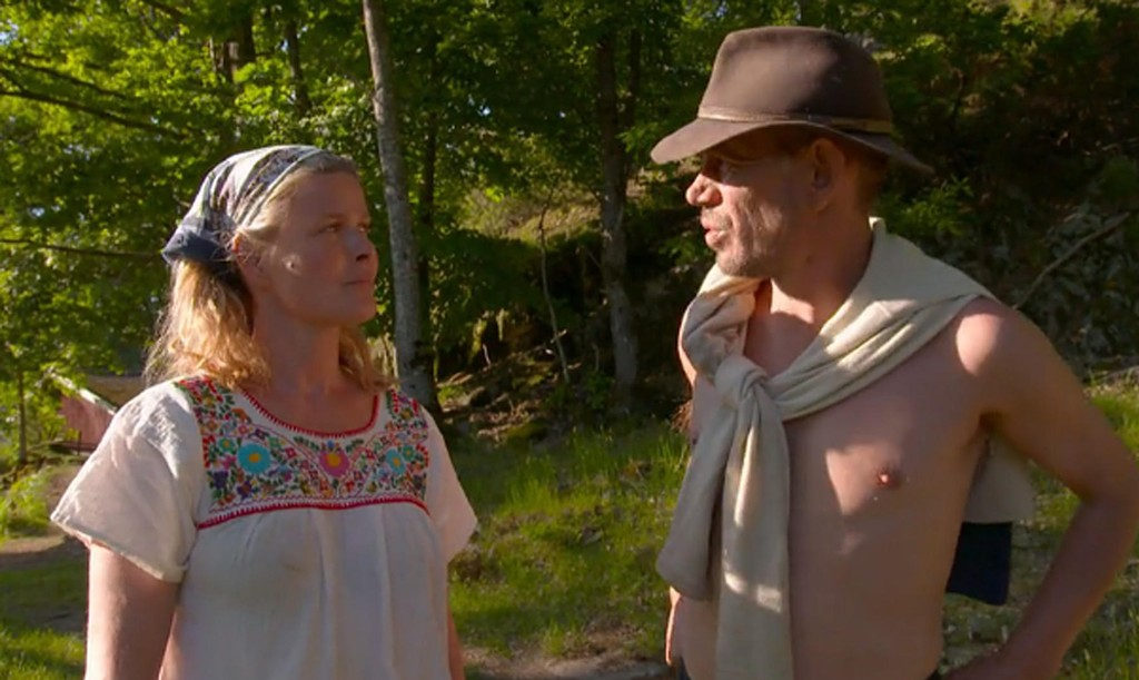 Vendela Kirsebom og Leif-Einar Lothe fant tonen under Farmen Kjendis.