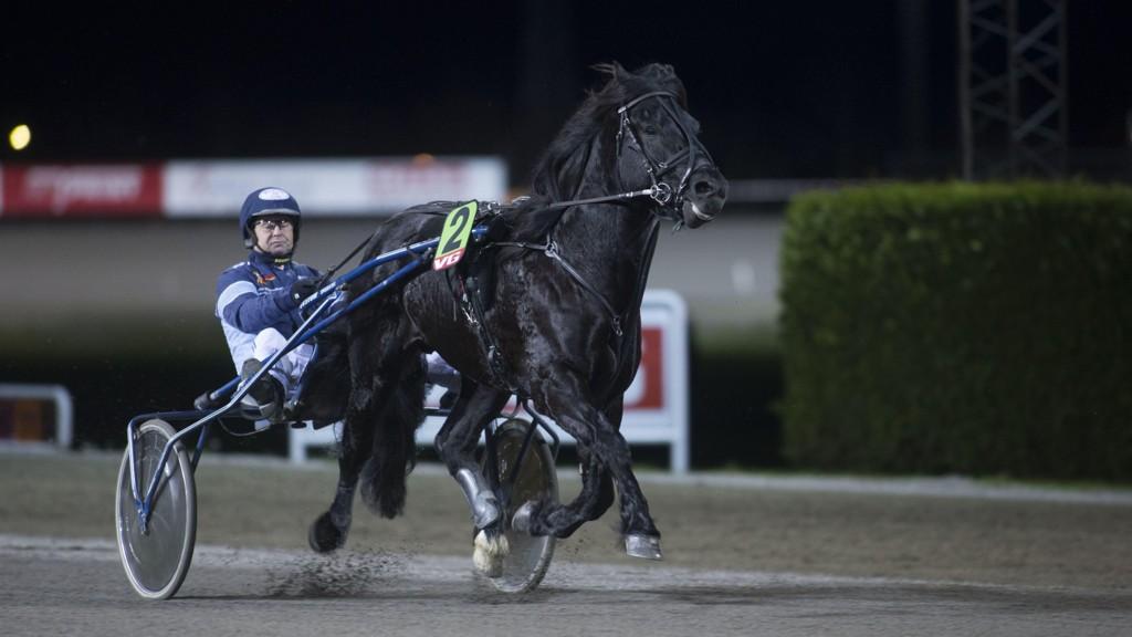Dagfinn Aarum kjører vår V75-banker. foto_Roger Svalsr¿d_hesteguiden.com