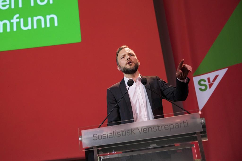 FIKK NEI: SV-leder Audun Lysbakken ville gå til valgkamp med fire hovedkrav for å samarbeide med Arbeideraprtiet, men fikk ikke viljen sin. Nå blir det i stedet fem hovedsaker partiet skal fronte.