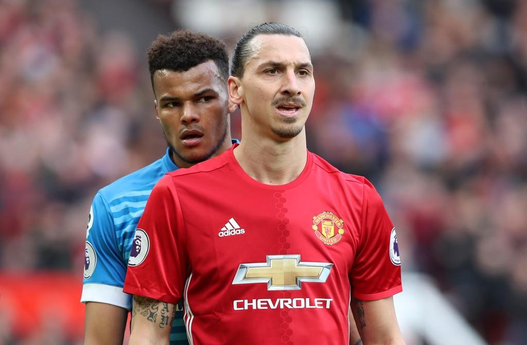 GOD: Zlatan Ibrahimovic har vært blant Manchester Uniteds beste spillere denne sesongen.