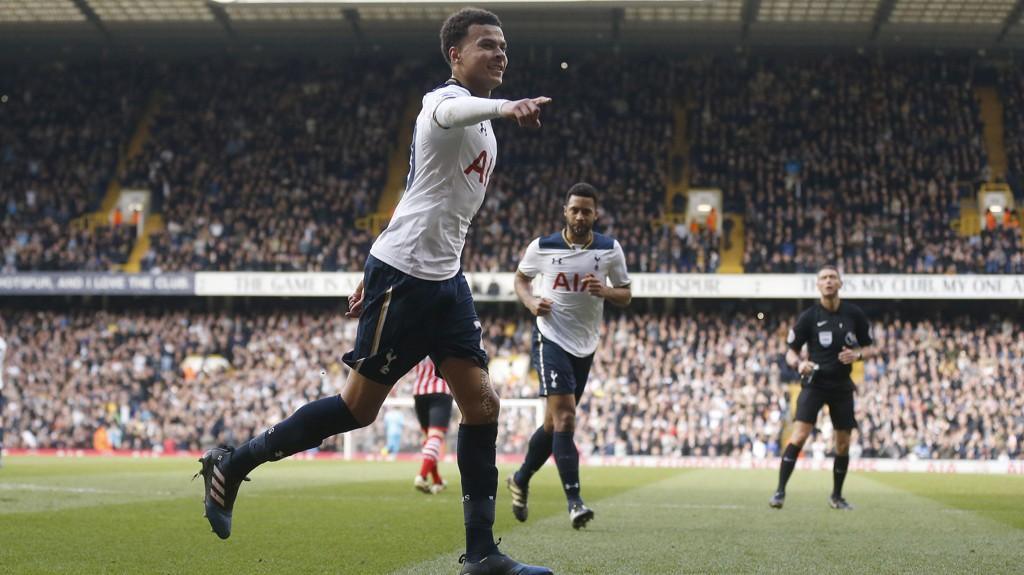 MATCHVINNER: Dele Alli scoret det avgjørende målet da Tottenham slo Southampton.