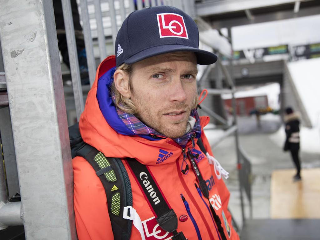 SKUFFET: Bjørn Einar Romøren ble tatt for promillekjøring søndag.