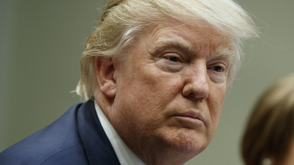 VIL HA INNREISEFORBUD: Donald Trump.