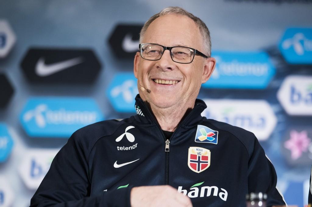 SMILER: Lars Lagerbäck kan glede seg over mye spilletid for sine utvalgte i siste helg før han samler landslaget for første gang.