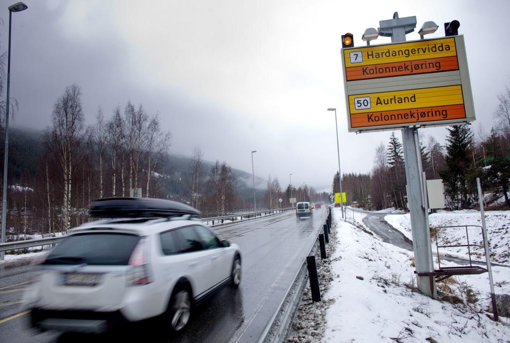 Riksvei 7 over Hardangervidda er blant de tre valgte veiene.