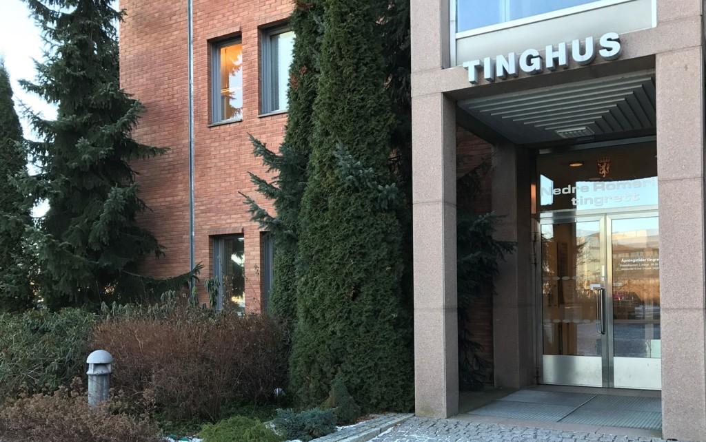 DØMT: En 41 år gammel kvinne er i Nedre Romerike tingrett dømt til fire års fengsel for å ha voldtatt en tolv år gammel gutt.