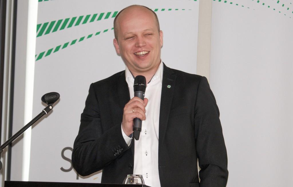 Trygve Slagsvold Vedum, partileder i Senterpartiet.