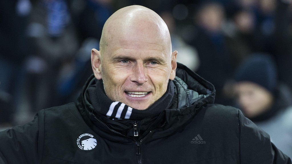 SMIL: FC København-trener Ståle Solbakken har blitt kåret til årets trener i Danmark 2016.