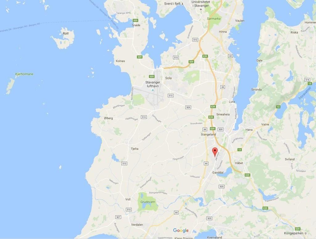 SANDNES: Mannen ble knivstukket i en leilighet i Sandnes natt til tirsdag.