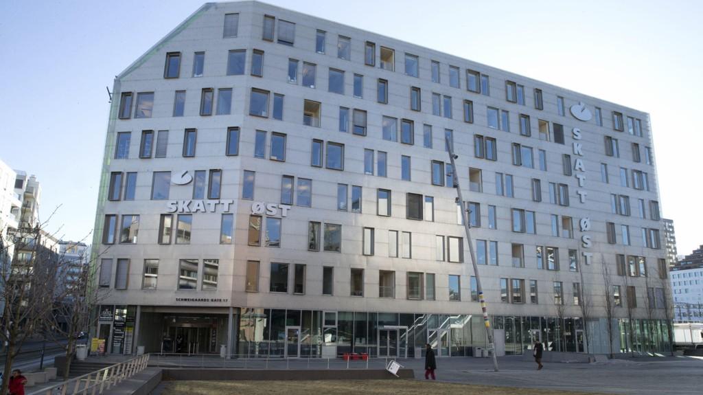 Illustrasjonsfoto: Skatt-Øst sine lokaler i Schweigaards gate i Oslo.