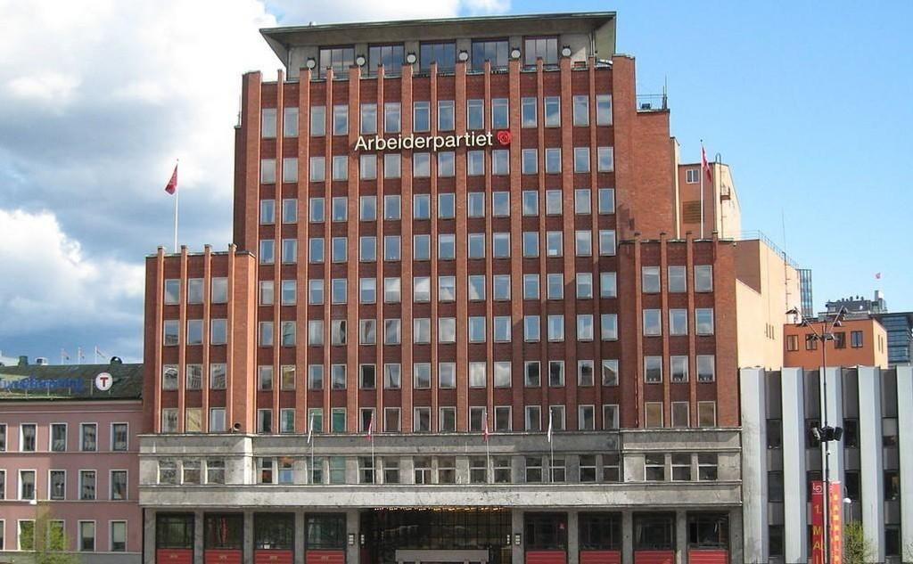 Folketeatret-bygningen på Youngstorget i Oslo.