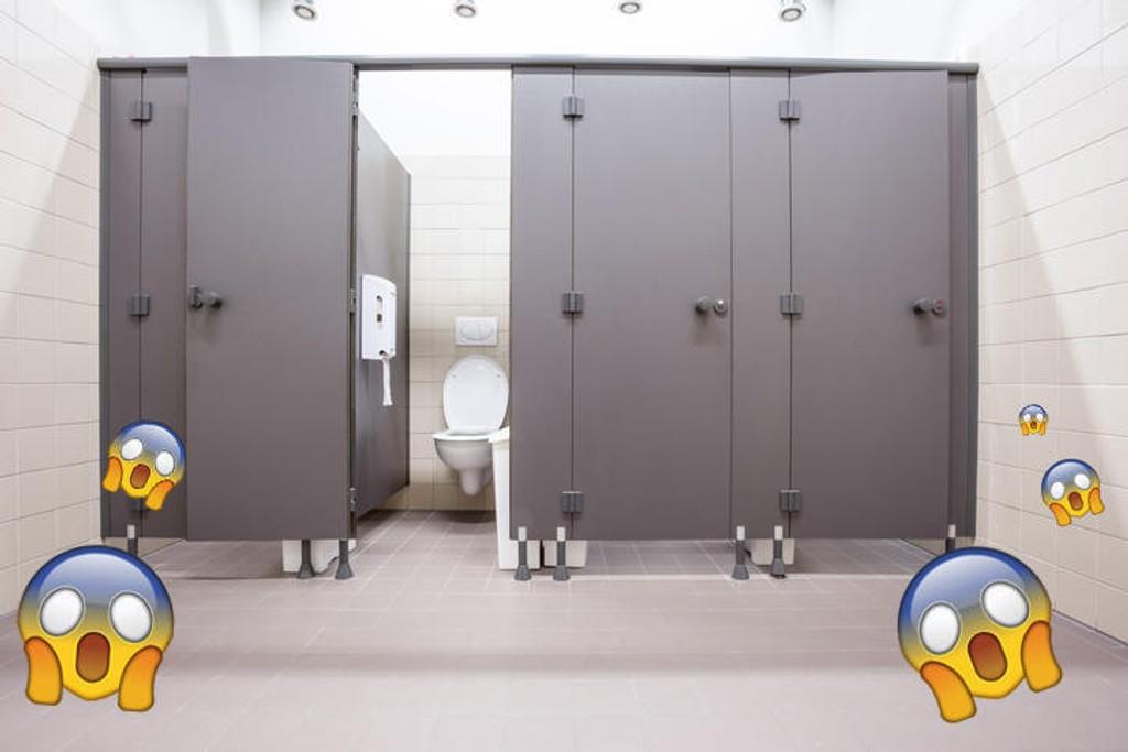 Hva gjør du om du er helt nødt til å gå på et offentlig toalett, og det er skittent?