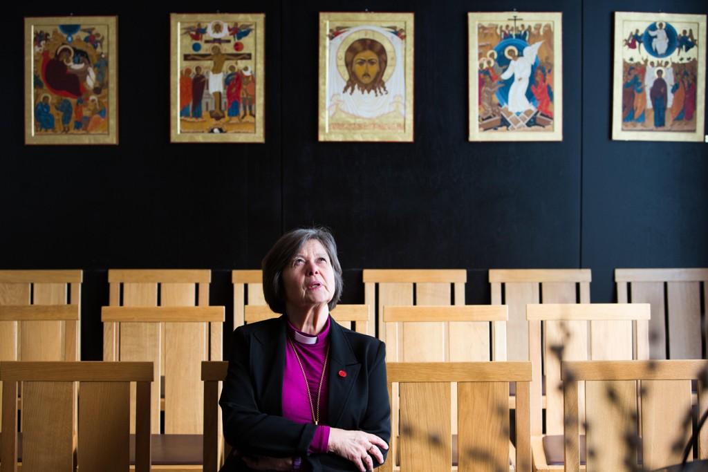 HERRENS FØRSTEDAME: Biskop og preses i Bispemøtet Helga Haugland Byfuglien (66) er den første kvinnen som er øverste leder i Den norske kirkes 480 år lange historie.