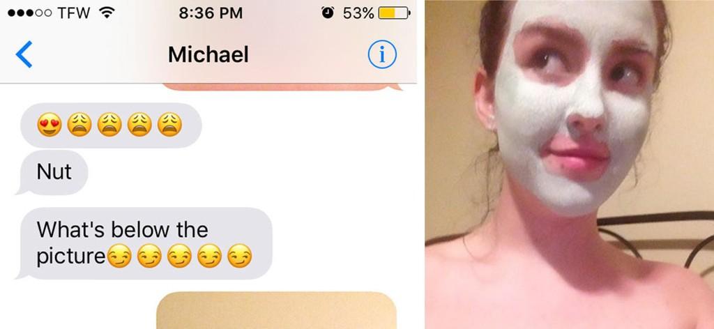 Jacquie Ross ble spurt av vennen Michael om å sende nakenbilder. Vi digger svaret hennes.
