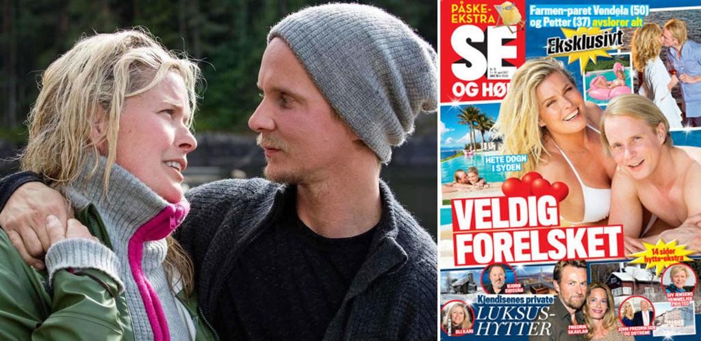 Vendela Kirsebom og Petter Pilgaard snakker ut i siste nummer av Se og Hør.