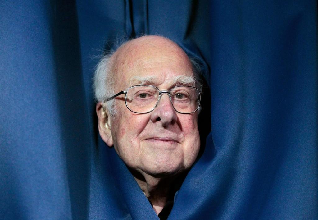 Peter Higgs er ikke spesielt glad i oppmerksomheten Higgs-bosonet har gitt ham. Her er han avbildet i forbindelse med at foredrag han holdt i 2012.