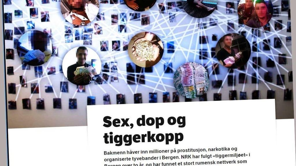 NRK Brennpunkt har kartlagt et miljø som tjener millionbeløp på prostitusjon, narkotika og tyveri.