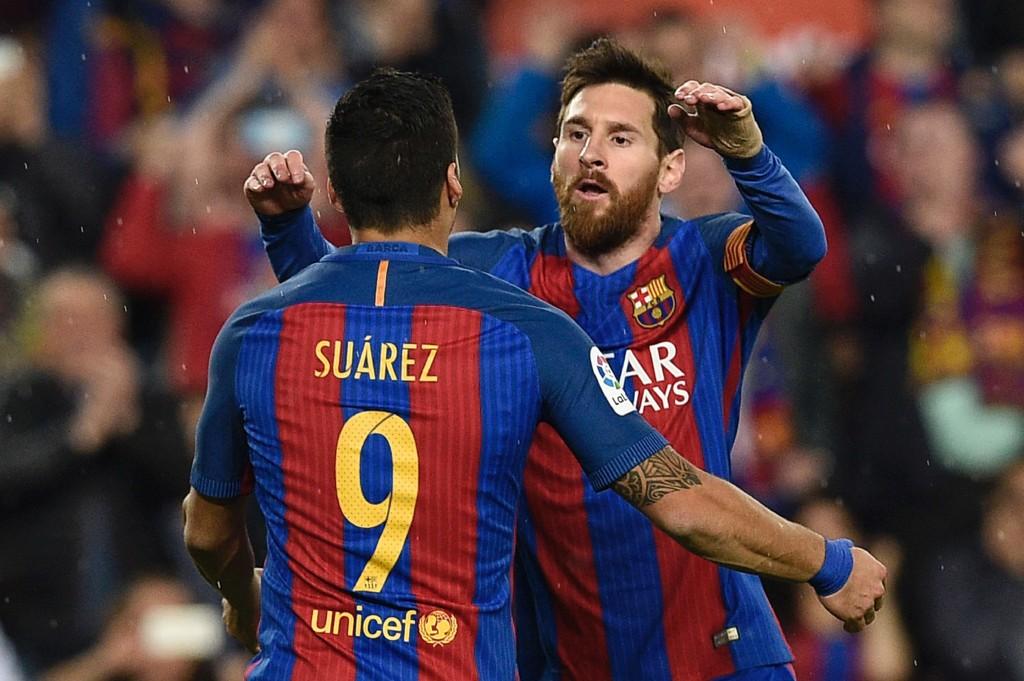 NYTT MIRAKEL? Lionel Messi og Luis Suarez får en meget tøff jobb med å snu kvartfinalen mot Juventus i Champions League.