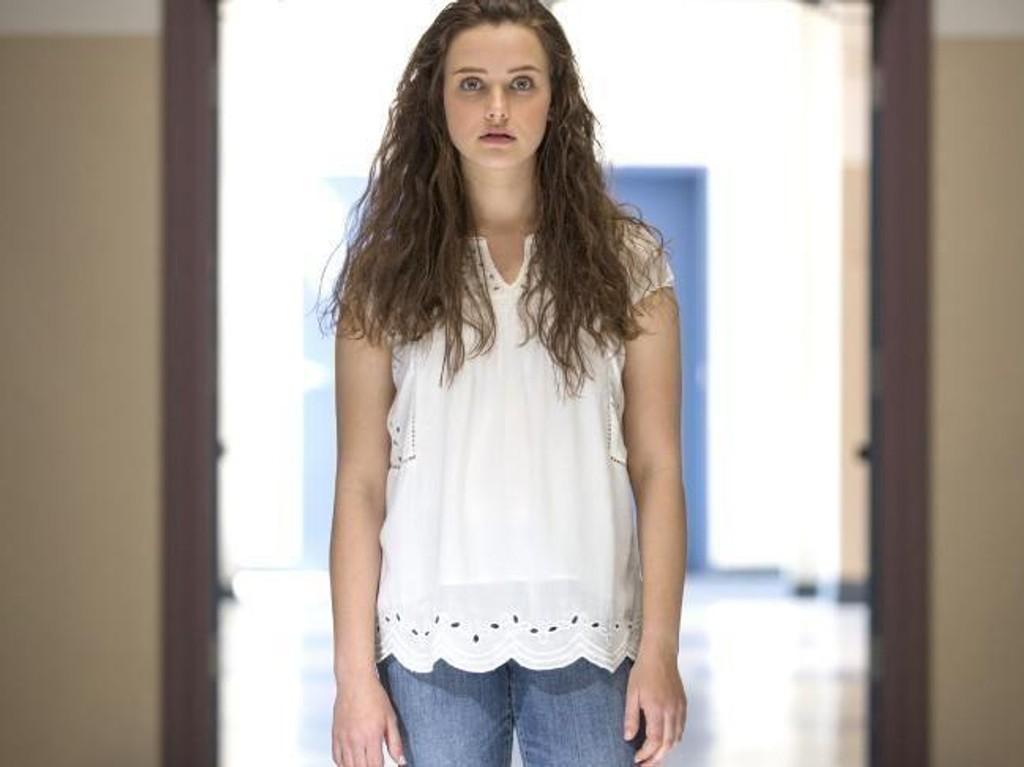 Hannah Baker, spilt av Katherine Langford.