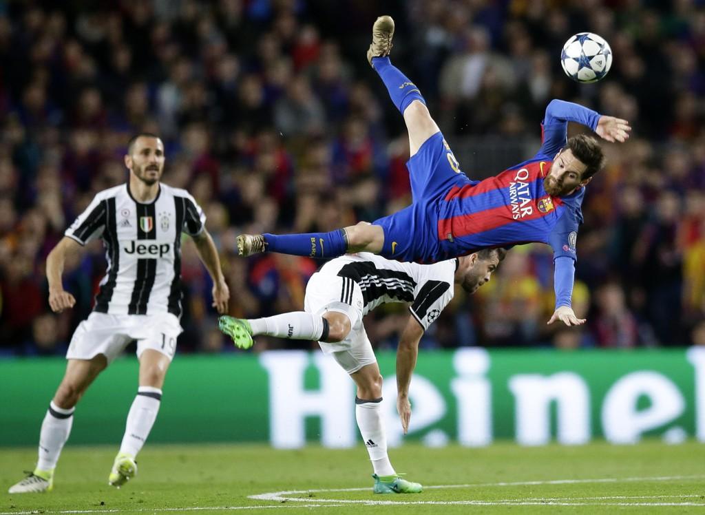 SLÅTT UT: Lionel Messi og Barcelona er slått ut av Champions League.