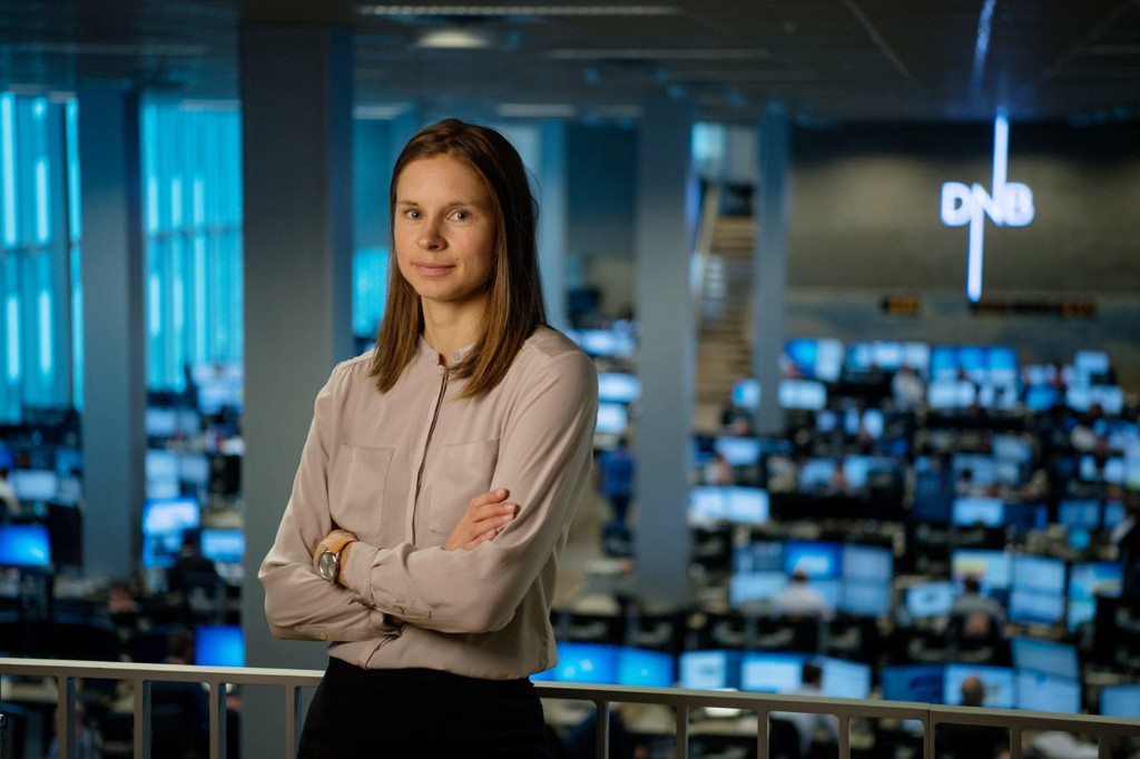 Valutaanalytiker i DNB Markets Marit Øwre-Johnsen.