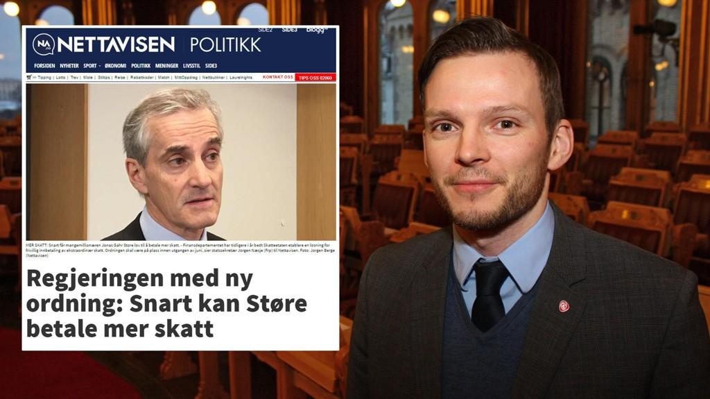 IDIOTISK: Arbeiderpartiets finanspolitiske rådgiver, Harald Jacobsen, mener det er idiotisk at regjeringen åpner for frivillig skattebetaling.