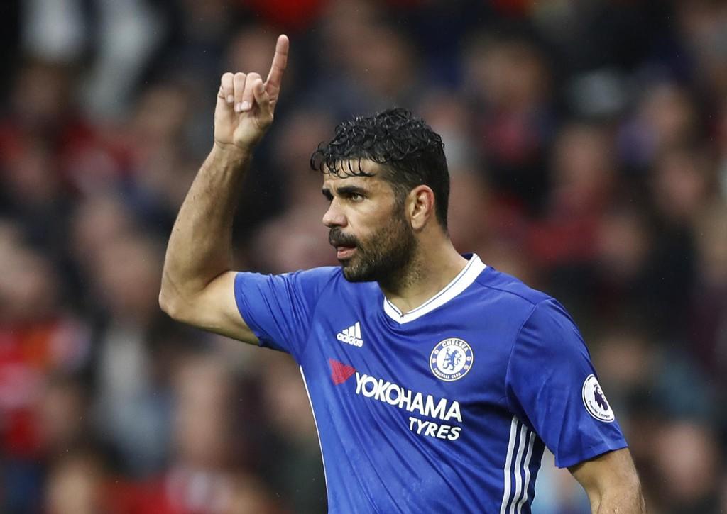 KRAVSTOR: Diego Costa krever angivelig høyere lønn i Chelsea, noe som kan føre til at han blir solgt i sommervinduet.