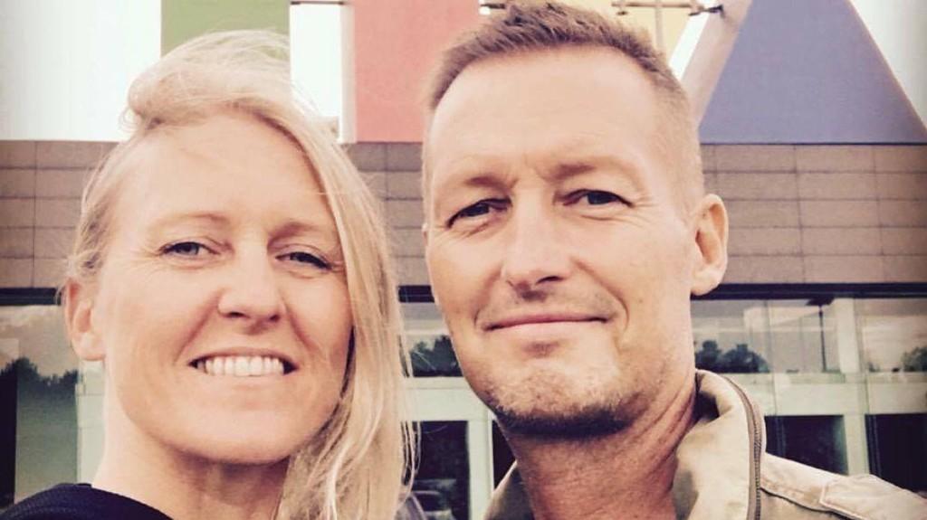 RANET: Tine Bjørneboes ektemann, Jacob, døde av kreft i fjor. Denne uken ble hun frastjålet bilder og minner fra ektemannen, men fikk alt tilbake etter en Facebook-etterlysning.