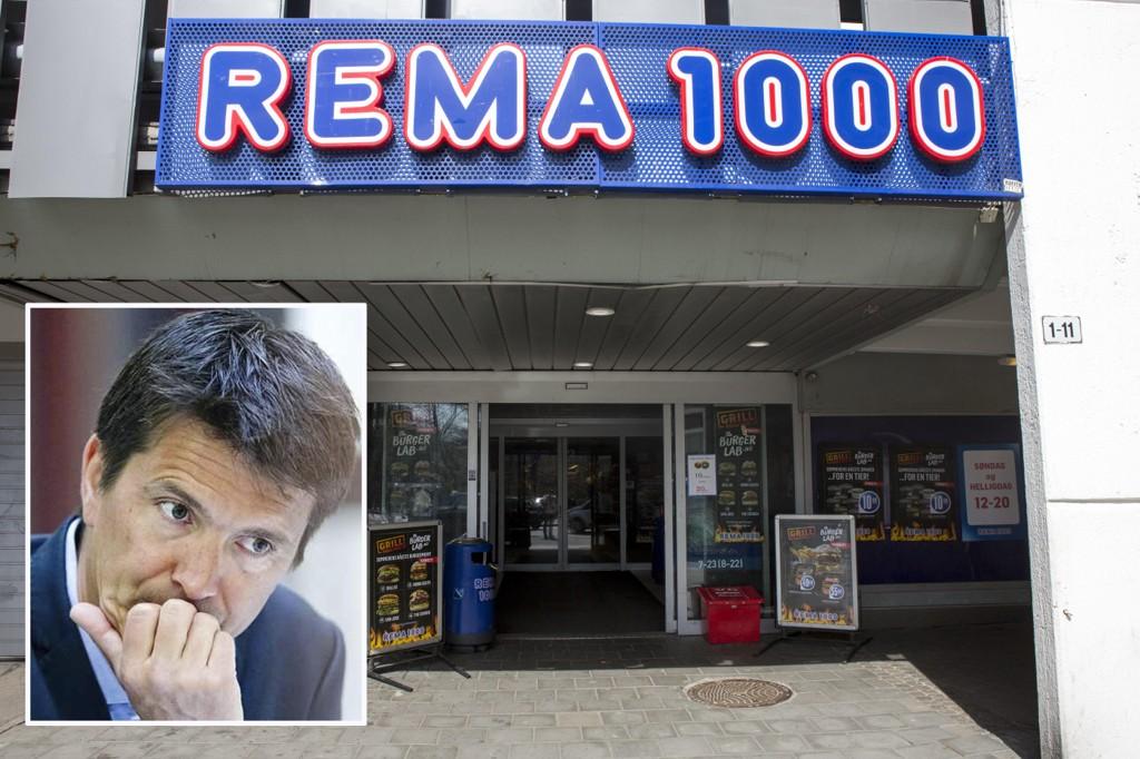 YTTERLIG NEDGANG: Rema 1000 taper markedsandeler også i mars.