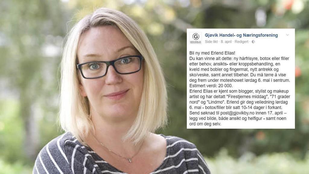 Nettavisen-blogger Marte Frimand-Anda reagerer kraftig på premien i denne konkurransen.