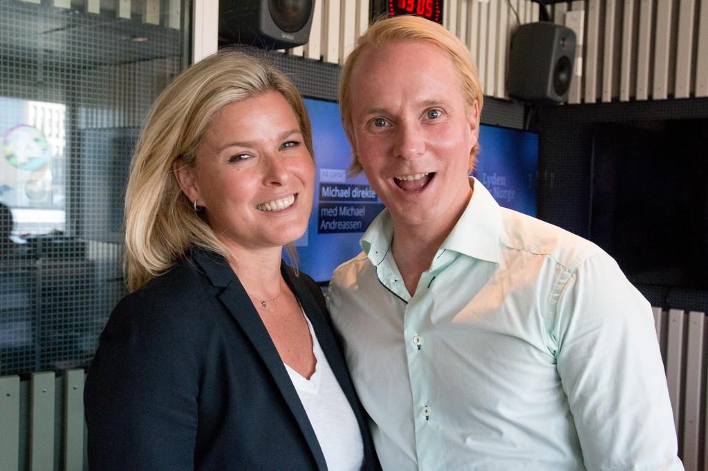 GODE VENNER: Petter Pihlgaard og Vendela Kirsebom nekter for at vennskapet dem imellom dreier seg om PR.