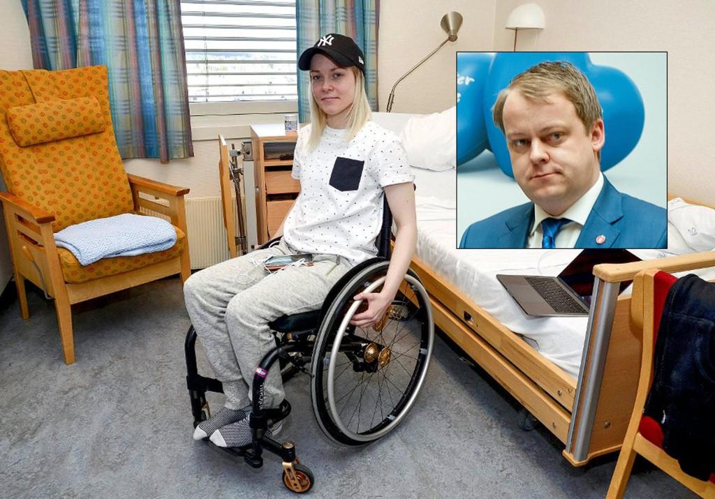 SVIKTET: Fremskrittspartiets sosialpolitiske talsmann, Erlend Wiborg mener at Cecilie Brenden Høgtorp er blitt grovt sviktet.