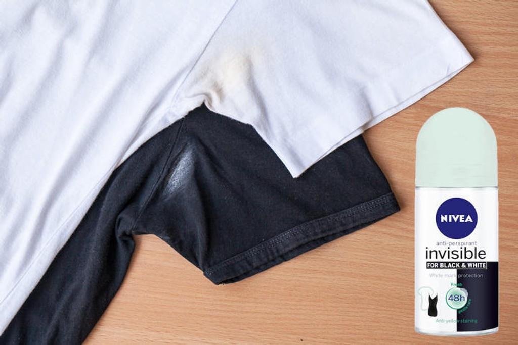 NIVEA Invisible for Black & White benytter ny tekonologi for å beskytte både deg og plaggene dine.