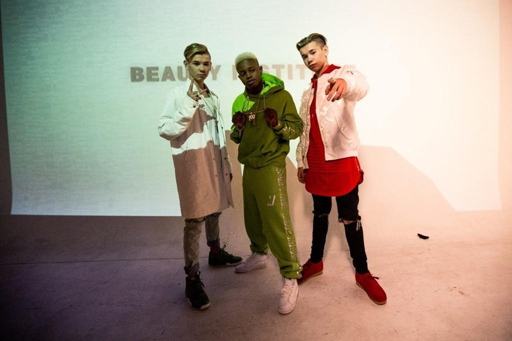 Marcus & Martinus slipper låten «Like it Like it» med Silentó. Her med Silentó i Los Angeles.