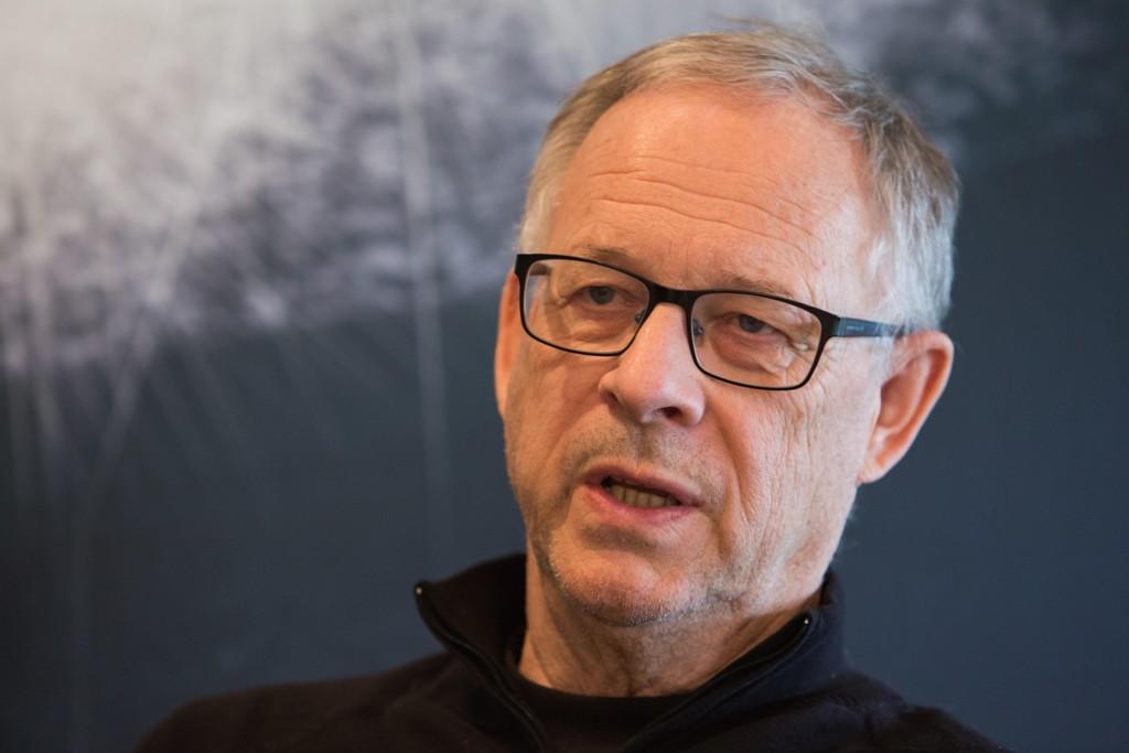 NETTAVISEN MØTTE LAGERBÄCK: Den norske landslagssjefen snakket blant annet om kritikken etter tapet mot Nord-Irland.