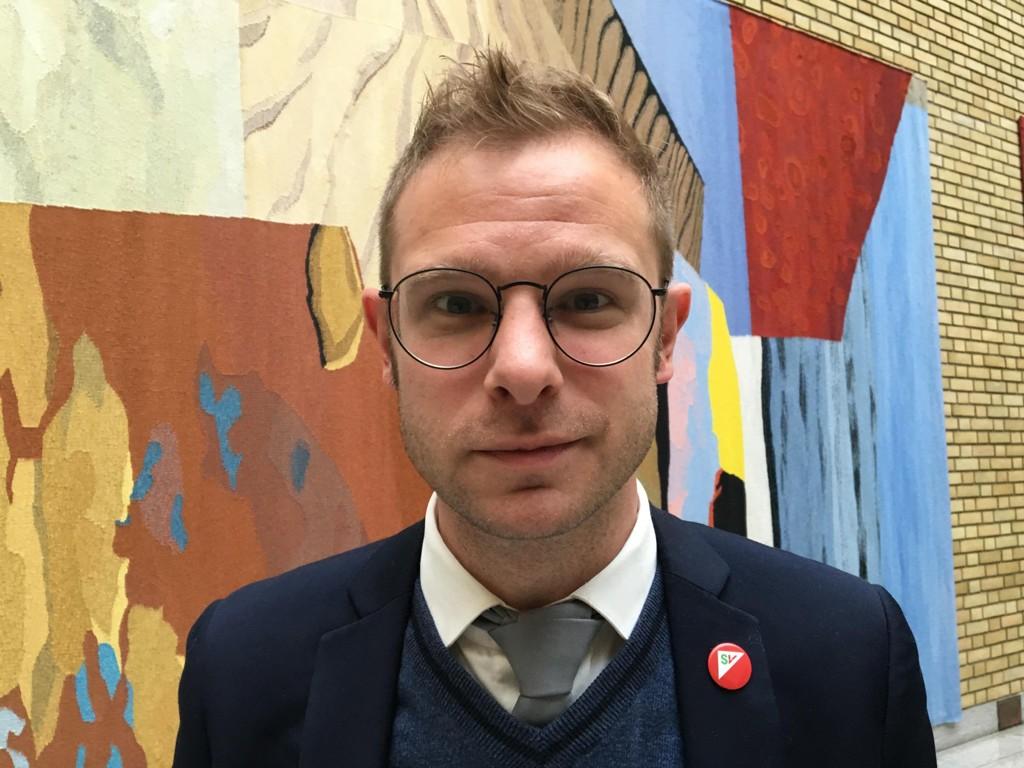 SV-nestleder Snorre Valen kommenterer regjeringens reviderte nasjonalbudsjett.