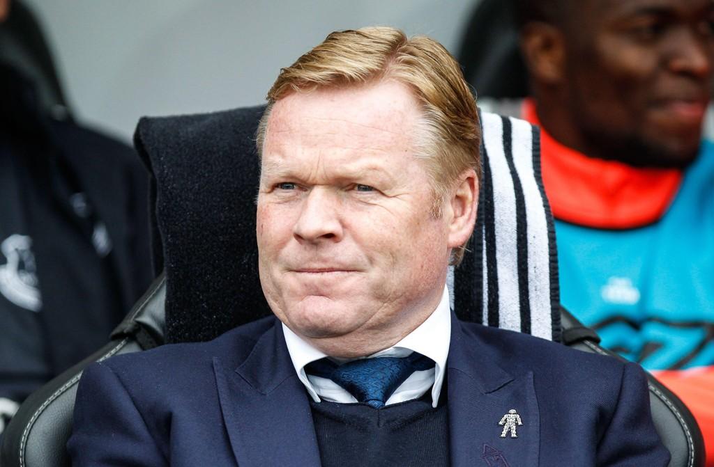MOTFLYT: Everton og Ronald Koeman har tapt sine to siste kamper og det uten å score mål.