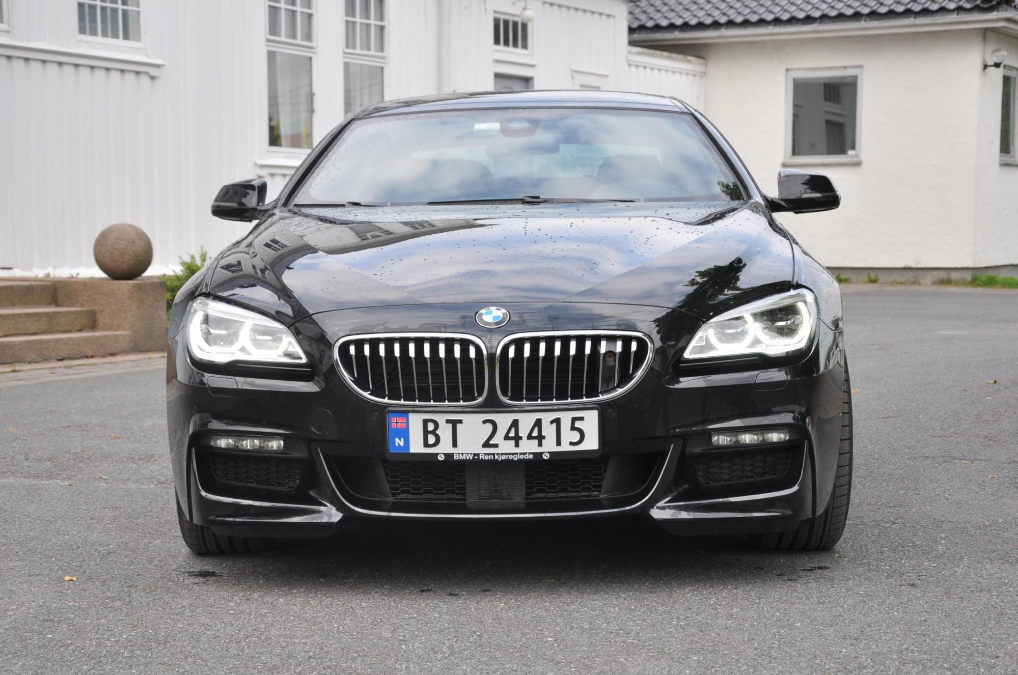 BMW har stanset salget av 6-serie Coupe i flere markedet. Illustrasjonsfoto.