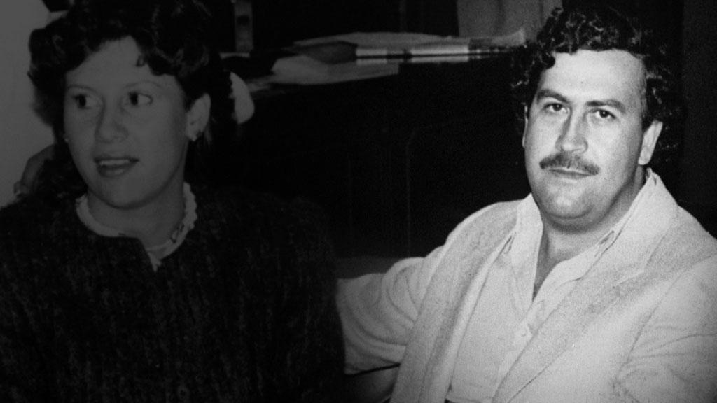 NARKOBARON: Pablo Escobar styrte store deler av verdens narkoeksport på 1980-tallet. Her sammen med sin kone Tata.