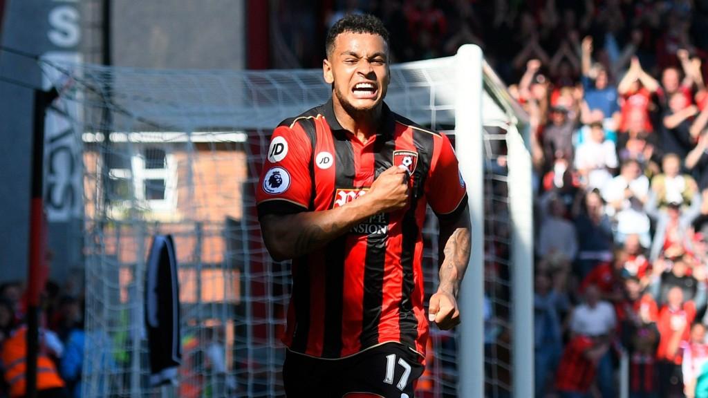 KONGEN: Joshua King ble den store helten da Bournemouth vant årets siste hjemmekamp.