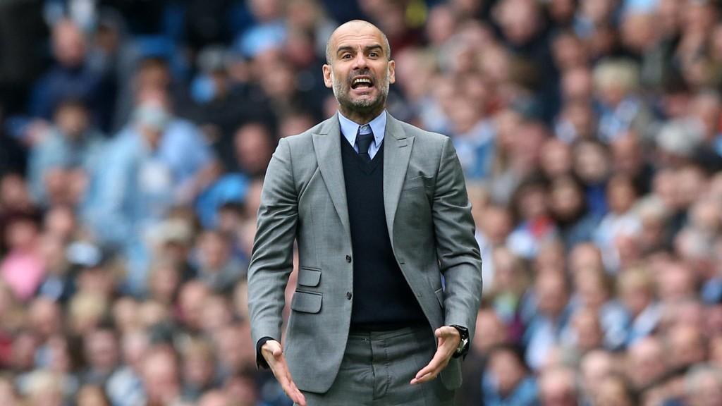 FRYKTER SPARKEN: Josep Guardiola vet han må levere bedre resultater med Manchester City neste sesong.