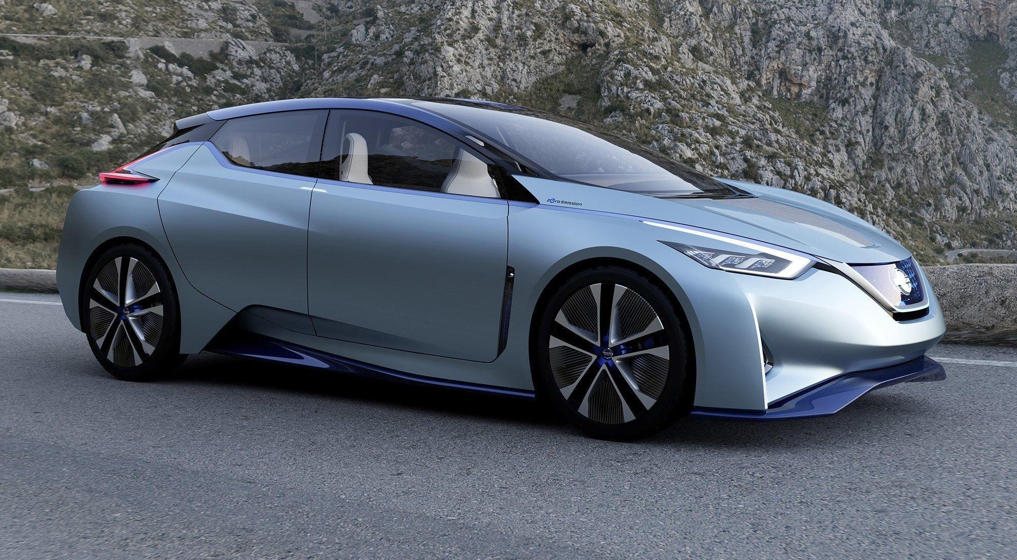Etter alt å dømme viser konseptbilen Nissan IDS designretningen på nye Nissan Leaf, som slett ikke er langt unna.